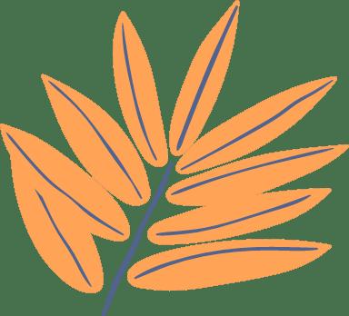 Abstract Locust Plant