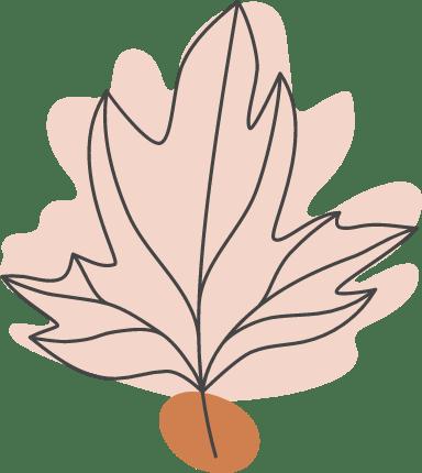 Autumn Long Leaf