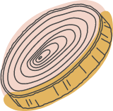 Autumn Wood Disc