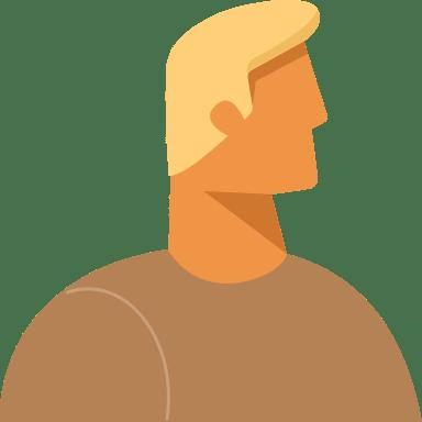 Blonde Profile Man