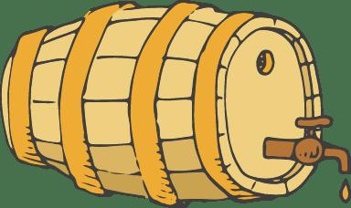 Tapped Barrel