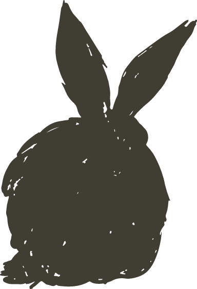 Relaxing Shadow Bunny