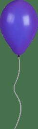 Shiny Purple Balloon