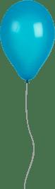 Shiny Blue Balloon