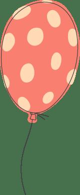 Polka Dotted Balloon