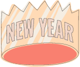 New Year's Crown