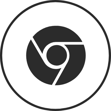 Chrome Double Circle 2