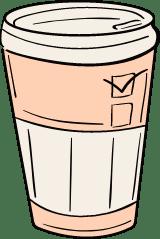 Coffee Cup & Sleeve