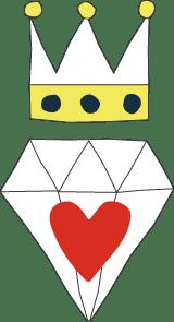 Diamond Heart Crown