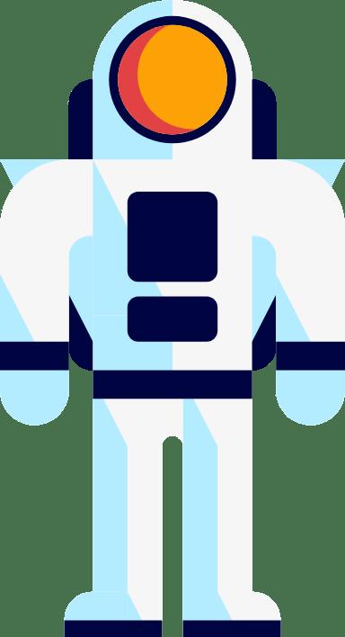 Standing Astronaut
