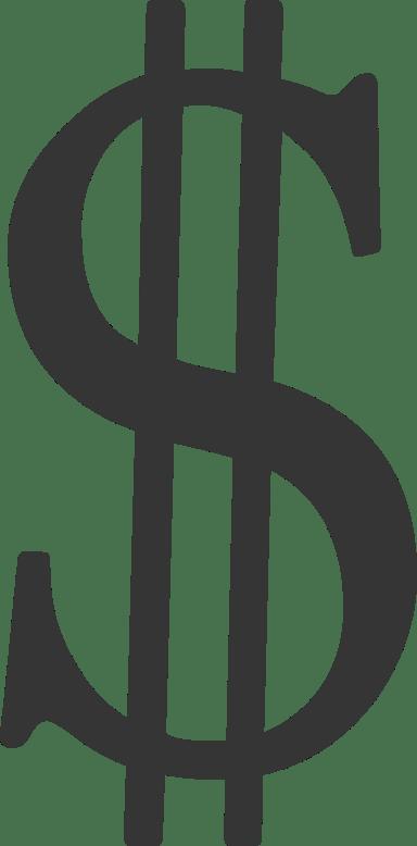 Classic Dollar Sign