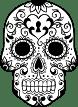 Keyhole Sugar Skull