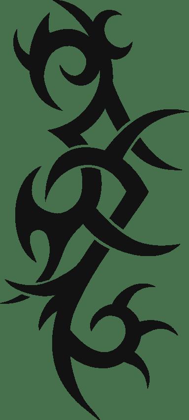 Bramble Tribal Tattoo