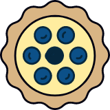 Blueberry Tartlet