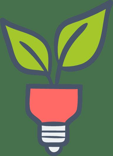 Leaf Lightbulb