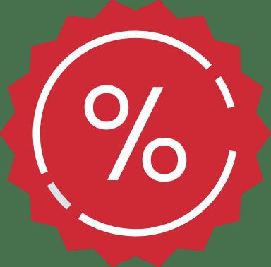 Percentage Sticker