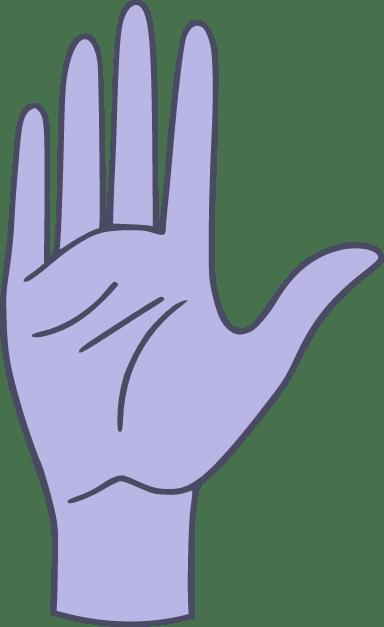 Hand Palm Up