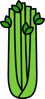 Outlined Celery