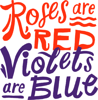 Roses Are Red Text