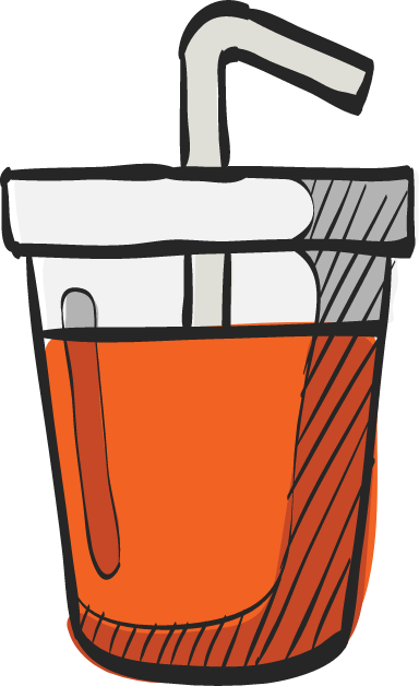 Drink With Straw