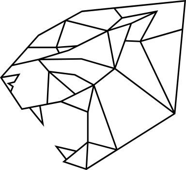 Geometric Panther