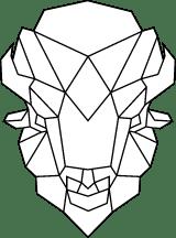 Geometric Bison