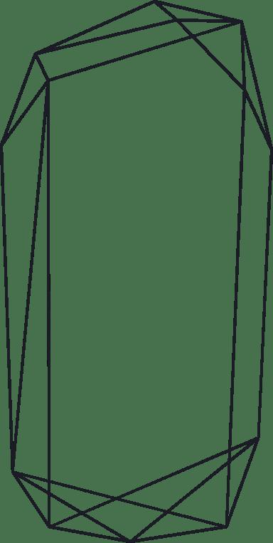 Oblong Line Frame