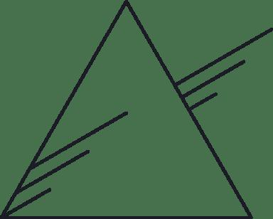 Back Triangle Glyph