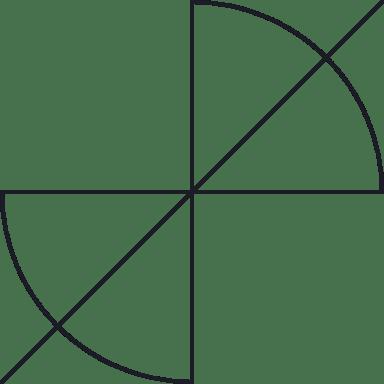 Quarter Circle Glyph
