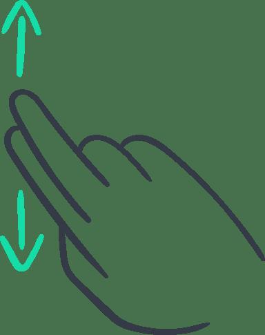 Two-Finger Scroll