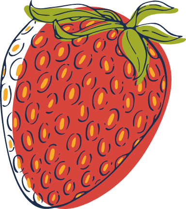 Sketched Strawberry