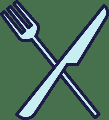 Iconic Knife & Fork