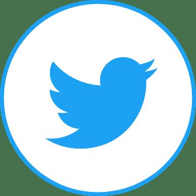Circle Blue Twitter