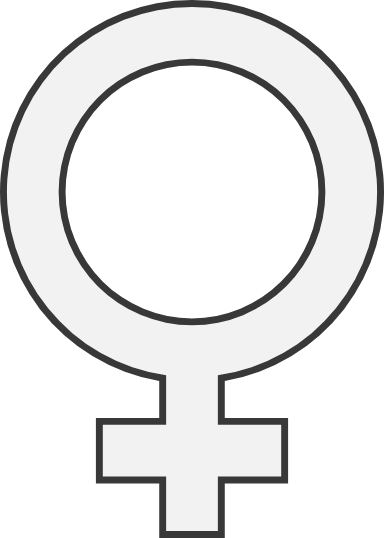 Outlined Female Sign