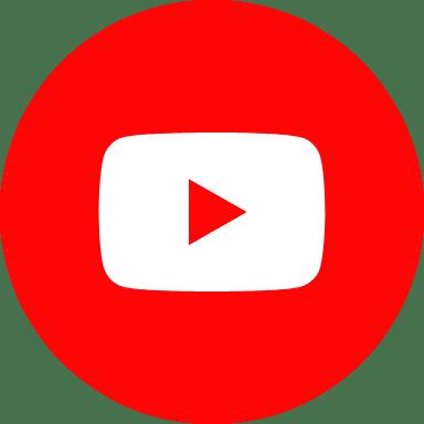 Round Red YouTube