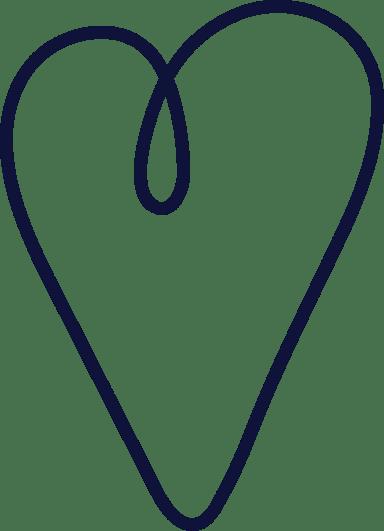 Plain Loopy Heart