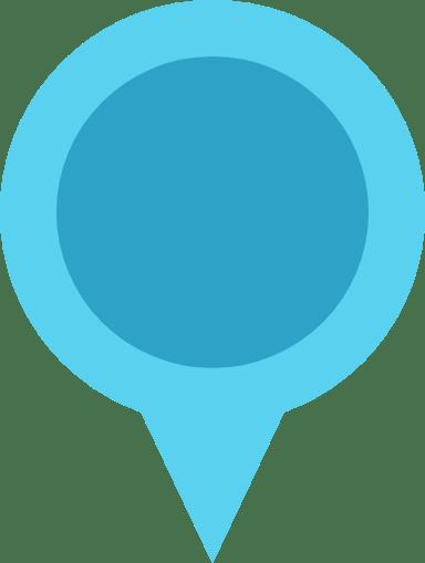 Rotund Map Pin