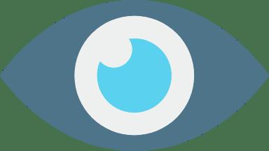Dark Blue Eye