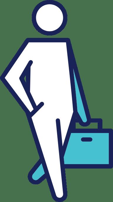 Briefcase Person