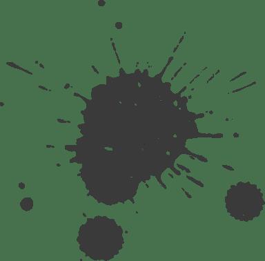 Drizzled Splatter