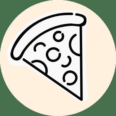 Basic Pizza Slice