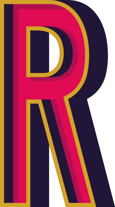 """Marquee Letter """"R"""""""