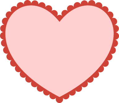 Scalloped Heart