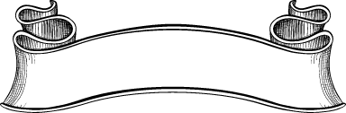 Gaudy Blank Banner