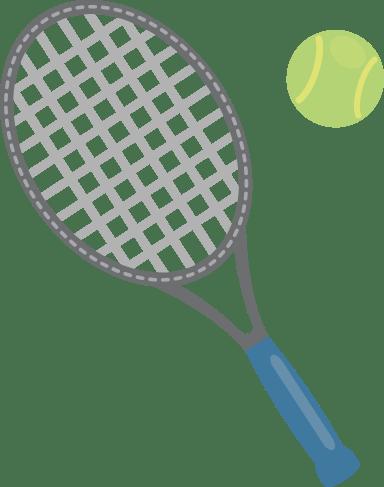 Tennis Racket & Ball