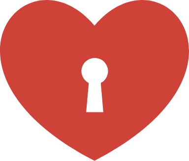 Keyhole Heart