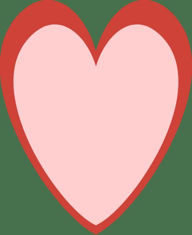 Contoured Heart