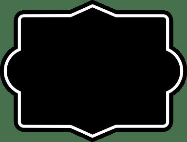 Dark Rectangle Badge