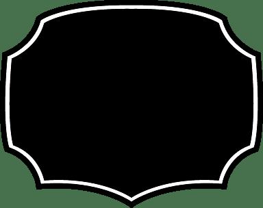 Dark Symmetrical Badge