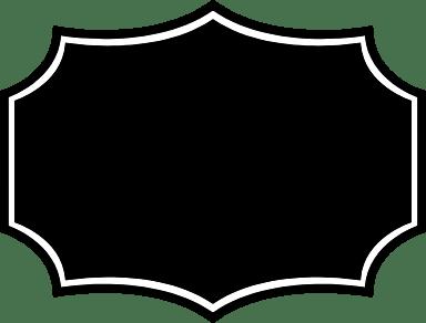 Dark Pointed Badge